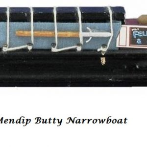 Mendip butty mode narrowboat