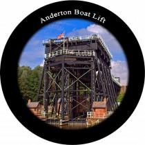 Anderton Boat Lift Slate Fridge Magnet