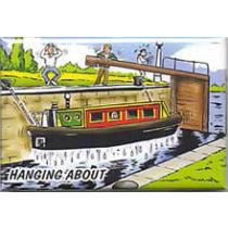 Hanging About Fridge Magnet