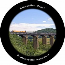 Pontycysyllte Aqueduct Slate Fridge Magnet