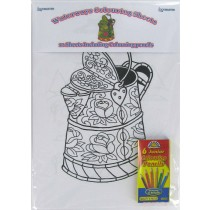 Waterways Colouring Pack & Pencils